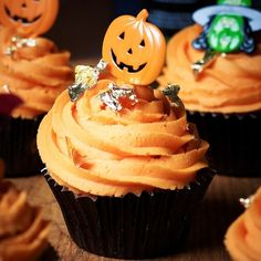 Spooky yet simple Halloween cupcakes recipe