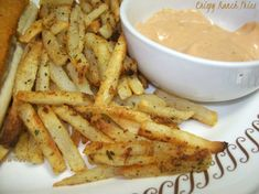 Crispy Ranch Fries.