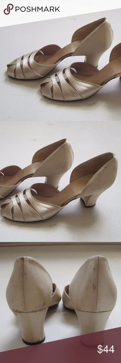 dd75fe1e7e19 VTG DANIEL GREEN Slippers Shoes Sz 5 Womens Heels Antique Vintage DANIEL  GREEN Womens Classic Shoes