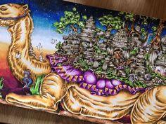 And another is finished !🎉 #imagimorphia #imagimorphiacolouringbook #imagimorphiacoloringbook #colors #colorful #coloring #colorist #coloringbook #colorfull #kleuren #kleurboek #kleurpotloden #kleurenvoorvolwassenen #karisma #creatief #creative #instapic #instaphoto #picoftheday #followme #camel #kameel #arabia. #persian #drawing #draw #kleurboek #colorist #colorfull #sunset #karismapencils
