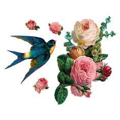 Bloemen, wie wordt er nou niet blij van? En als er dan ook nog zo'n vrolijke vogel tussendoor vliegt is het lenteplaatje compleet! Deze VAN IKKE muursticker geeft elke ruimte de nodige flora en fauna. Gemaakt van vinyl en geschikt voor elk oppervlak.