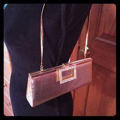 Gold clutch/bag Aldo clutch. Gold. Scratches shown in photos. ALDO Bags Clutches & Wristlets