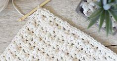 Prettiest Lil' Crocheted Washcloths – Mama In A Stitch