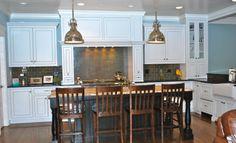 Simple, clean kitchen by Siena Custom Builders