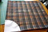 yo elijo coser: DIY: cómo hacer faldas de picos con cuadrados de tela