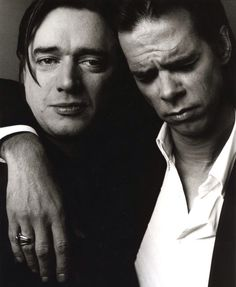 Aw, Blixa and Nick