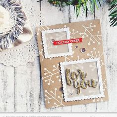 This is card no 3 and it was posted a few days ago on the @mftstamps blog ❤ I can't believe that Christmas is so close!!! ❄  #cardmaking #handmade #handmadecards #handmadecard #diy #diycard #papercrafting #papercrafts #crafting #crafts #cascard #cas_only_cas #cleanandsimple #stamping #mftstamps #diecutting #mftdienamics #gold #wowembossing #2016christmascardseries #christmas #christmascard #kraft