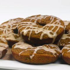 Keto Pumpkin Spice Donuts - my list of delicious and healthy recipes Donut Recipes, Keto Recipes, Dessert Recipes, Dessert Ideas, Healthy Recipes, Low Carb Sweets, Low Carb Desserts, Keto Donuts, Donuts Donuts