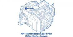 361263136 گیربکس AL4 Spare Parts
