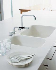 GetaCore GETACORE® Top cucina / lavello in Solid Surface ...