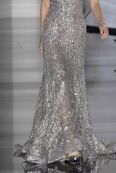 pretty pretty silver sparkle
