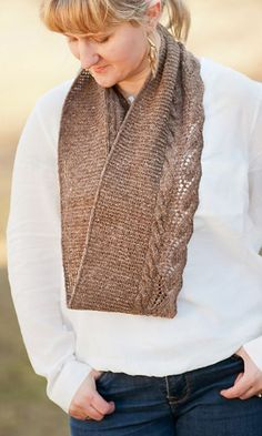 Change of heart cowl: Knitty First Fall 2014