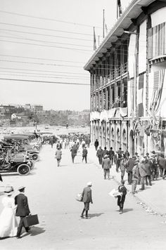 ARRIVING AT THE BALL PARK: Forbes Field, Pittsburgh, 1912