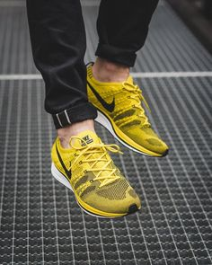 #men's #male's #sneakers  #Yellow #shoes  #casual shoes #favorite #design #fashion #ideas #style #cool #footwear Nike Flyknit Trainer, Yeezy, Sporty Outfits, Best Sneakers, New Shoes, Nike Men, Trainers, Footwear, Yellow Shoes