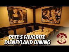 Pete's Favorite Disneyland Dining Locations | Disney Dining Show - YouTube Disneyland Dining, Disney Dining, Disneyland Resort, Best Places To Eat, The Good Place, Youtube, Youtubers, Youtube Movies