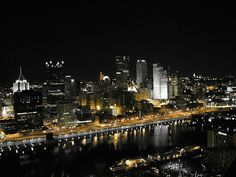 Pittsburgh from Mt. Washington, Pittsburgh, PA