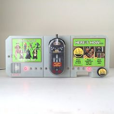"""Star Wars """"CommTech"""" reader--previously used as a Wal-Mart store display. Part of this 70-figure Episode I lot."""