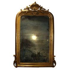 I'm drooling over this. Antique Mirror, 1850 / Scott Landon Antiques - 1stdibs