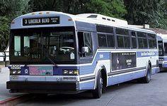 Santa Monica Municipal Bus Lines GM  CLASSIC