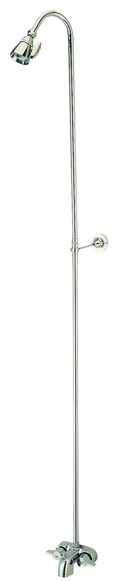 Kingston Brass Satin Nickel Converto Shower CC3128