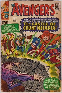 Avengers 13  February 1965  Marvel Comics  Grade G