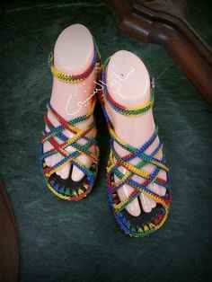 Crochet Sandals, Crochet Shoes, Crochet Slippers, Sock Shoes, Shoe Boots, Make Your Own Shoes, Crochet Flip Flops, Crochet Slipper Pattern, Boot Jewelry