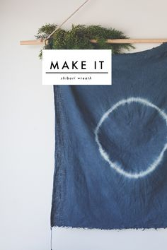 As I mentioned in my Driftwood Centrepiece DIY, I am trying for a simpler christmas. This year as well as a foraged wreath, I decided to turn my hand to shibori dyeing and make a wall hanging that ...