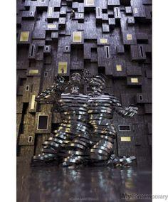 21 st century beggars - Adam Martinakis - Oeuvre d'art contemporain - MyContemporary