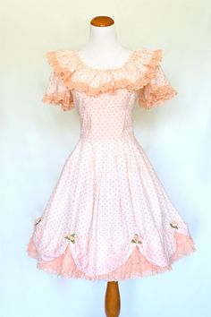 Square dance style dress