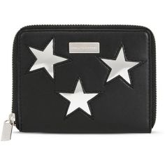 Stella McCartney Small Zip-Around Star Wallet i1TDmNFZp