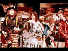 """""""Run Runaway"""" is a hard rock song performed by English band Slade. The song was written by Jim Lea and Noddy Holder and was on their 1983 album The A. 70s Artists, Slade Band, Hard Rock Songs, Noddy Holder, 70s Glam Rock, British Rock, Know Who You Are, Rock Music, Cool Bands"""