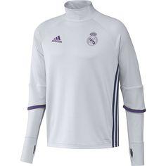 adidas REAL TRG TOP -Sweatshirt - Ligne Real Madrid CF pour Homme. #adidas #real_madrid #team_real_madrid #foot #football #supporter_attitude #football_attitude #sport_attitude #sport #sweat