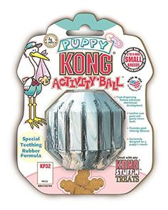 KONG Puppy Activity Ball Dog Toy, Small (Colors Vary) KONG https://www.amazon.com/dp/B0009VF050/ref=cm_sw_r_pi_dp_x_IhPjybBYXPZW9