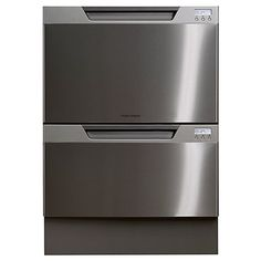 Buy Fisher & Paykel DD60DCHX7 Built-in Double DishDrawer Dishwasher, Stainless Steel Online at johnlewis.com