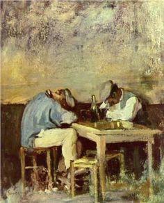 Nicolae Grigorescu (1838 - 1904) | Realism | Two Drunks