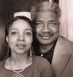 "Ruby Dee and Ossie Davis, the greatest black couple of all time. :) (via ""black love...is a beautiful thing"")"