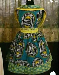 African clothing African dress african by CoCoCremeCouturier African Dresses For Kids, African Maxi Dresses, African Attire, African Wear, African Fashion Designers, African Print Fashion, Ankara Fashion, African Shop, Girl Fashion
