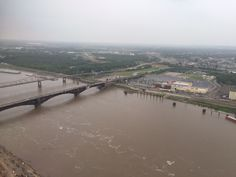 St. Louis, MO, the mighty, muddy, Mississippi River