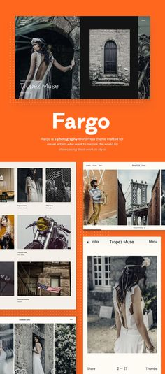 From landscape to portraits, from inserting videos to creating a striking journal, Fargo offers you the full pack of perks. This way, you can shape an engaging experience that people love and remember in the long run.