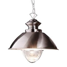 Suspension Lamp with Marine Seedy Glass - Casafina