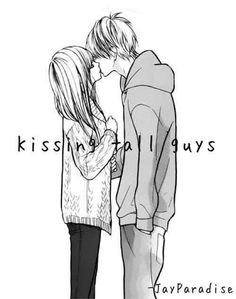 kissing tall guys:3