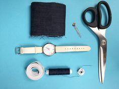 Stare na nowe #3 - Jak uszyć nowy pasek do zegarka?