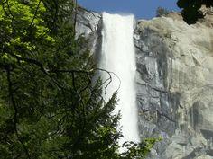 Bridalveil Falls in Yosemite National Park