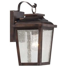 Found it at Wayfair - Irvington Manor 1 Light Outdoor Wall Lantern  FOR OUTSIDE... USE A BIGGER SIZE FOR THE FRONT ENTRY?