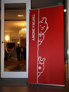TINTIN Party Entrance by digitalbear, via Flickr
