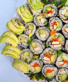 That Sushi is looking almost too good to eat!  via @sushiloveforever