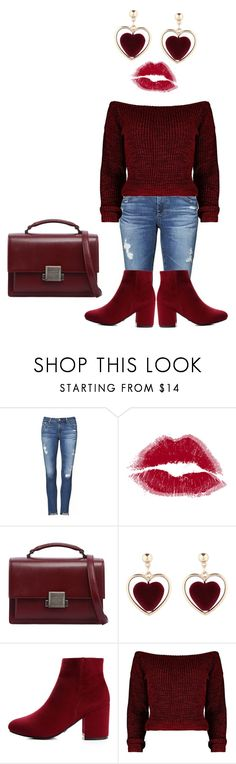 """""""Untitled #1039"""" by spoiledcrybaby420 ❤ liked on Polyvore featuring AG Adriano Goldschmied and Yves Saint Laurent"""
