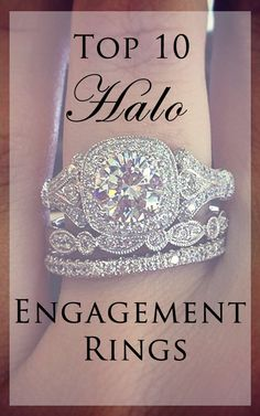 In love with the halo engagement ring? Us too!