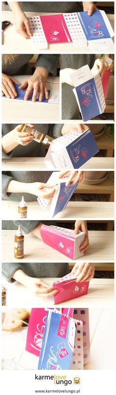 Box, Pocket, free template, tea