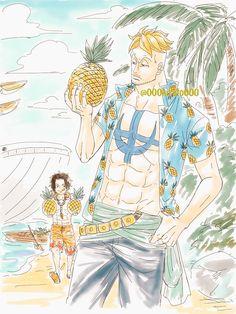 ถูกฝังไว้ One Piece Comic, One Piece Ace, One Piece Fanart, One Piece Pictures, One Piece Images, Character Sheet, Character Art, Manga Art, Manga Anime